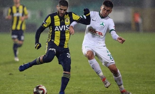 Fenerbahçe kupada son 16 turuna yükseldi