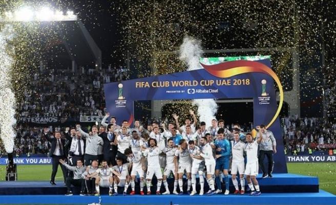 FIFA Kulüpler Dünya Kupası şampiyonu Real Madrid