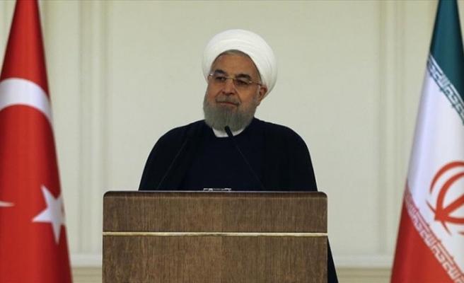 İranCumhurbaşkanıRuhani: İran tam anlamıyla Türkiye'nin yanında