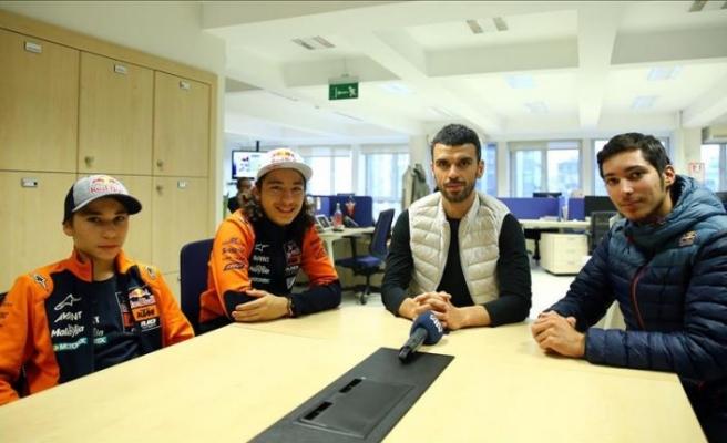 Kenan Sofuoğlu'nun 'muhteşem üçlüsü'