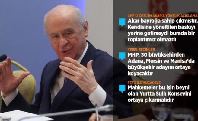 MHP Genel Başkanı Bahçeli: Kaşıkçı cinayetinin faili Türkiye'de yargılanmalı