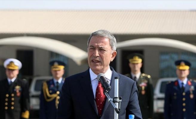 Milli Savunma Bakanı Akar: Münbiç ve Fırat'ın doğusu konusunda yoğun şekilde çalışıyoruz