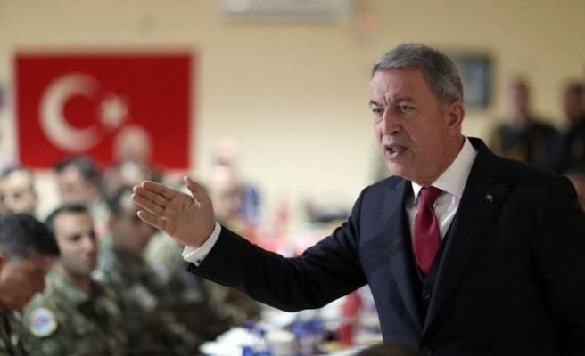 Milli Savunma Bakanı Akar: Provokasyonların bedeli ağır olur