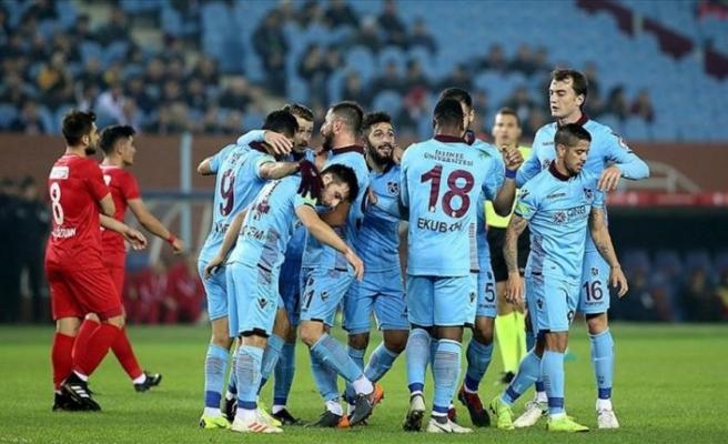 Trabzonspor kupada son 16 turuna yükseldi