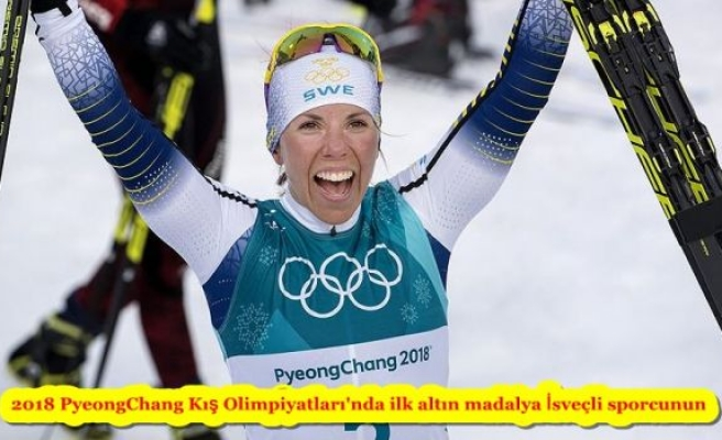 2018 PyeongChang Kış Olimpiyatları'nda ilk altın madalya İsveçli sporcunun
