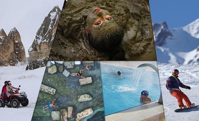 Türkiye'nin gözde kış turizm merkezleri konuklarını bekliyor