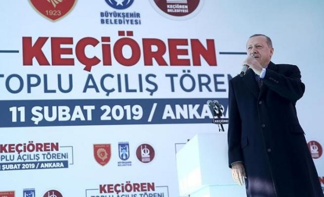Cumhurbaşkanı Erdoğan: Tanzim satış noktalarıyla fiyatlar yarı yarıya indi