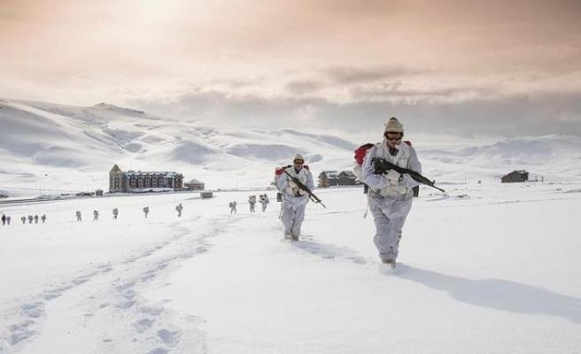 Terör örgütünün kış yapılanmasına operasyon