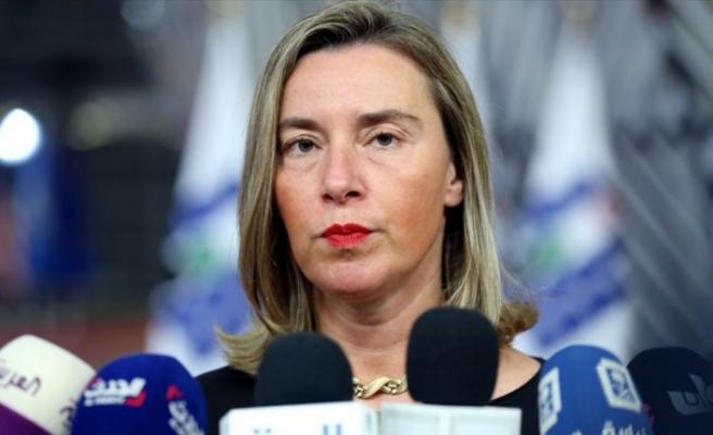 AB Yüksek Temsilcisi Mogherini: Türkiye'deki Suriyeliler için 1,5 milyar avroyu aktaracağız