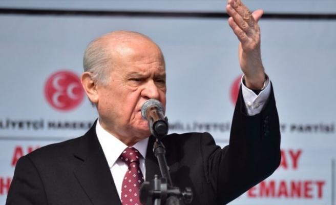 MHP Genel Başkanı Bahçeli: Kılıçdaroğlu tank-palet fabrikası üzerinden yalan inşa etmesin