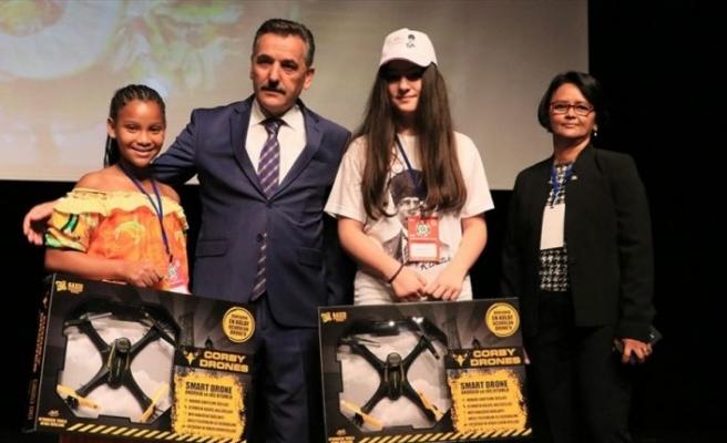 41. Uluslararası 23 Nisan Çocuk Şenliği Samsun'da devam ediyor