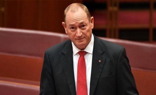 Avustralya Senatosu Fraser Anning'i resmen kınadı