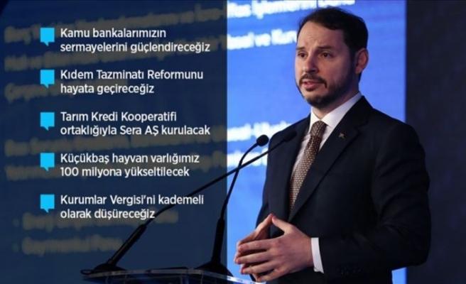 Bakan Albayrak reform paketini açıkladı