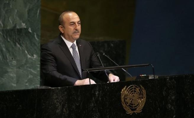 Dışişleri Bakanı Çavuşoğlu: Bugün teröristlere karşı dimdik duruyoruz