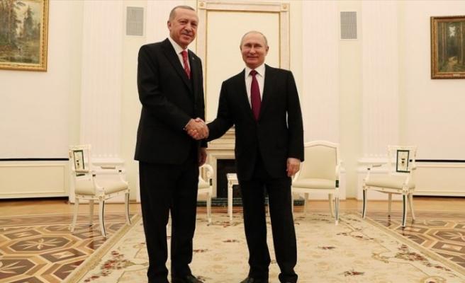 Erdoğan ile Putin 3'üncü kez bir araya gelecek