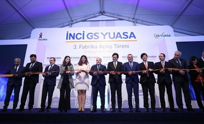 İnci GS Yuasa, Manisa'daki 3. fabrikasını açtı