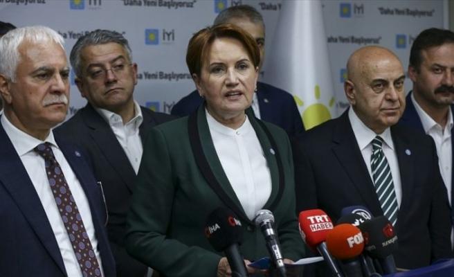 İYİ Parti Genel Başkanı Akşener: Bu seçimin galibi Millet İttifakı'dır