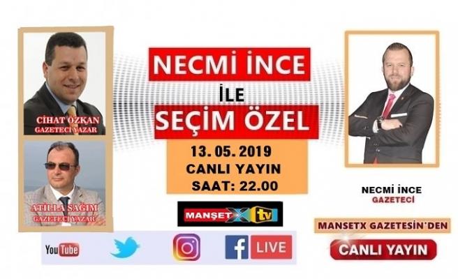 Gazeteciler SEÇİM ÖZEL'de YSK'nın Kararını Değerlendirecek