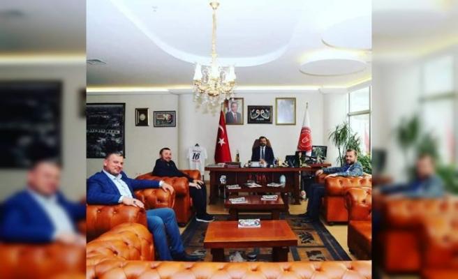Gürsu Belediye Başkanı Mustafa Işık'a İNCE Ziyaret