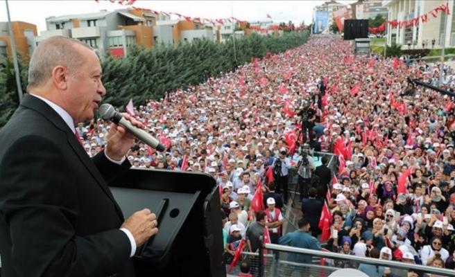 Cumhurbaşkanı Erdoğan: Mısır'ın uluslararası mahkemelerde yargılanması için gerekeni yapacağız