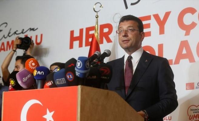 İmamoğlu: İstanbulumuza bugünkü seçimin neticeleri hayırlı olsun