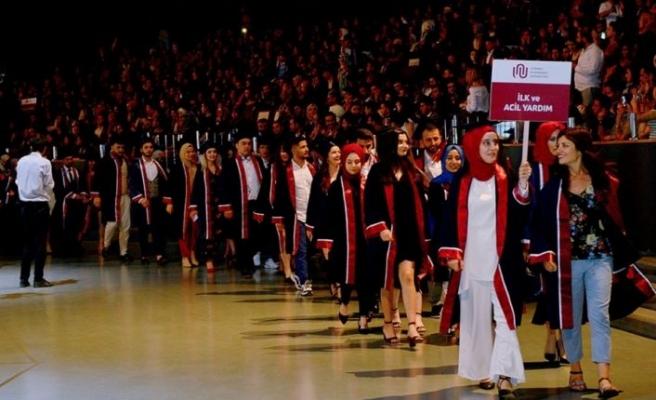 İstanbul Ayvansaray Üniversitesi 2018-2019 mezunlarını uğurladı