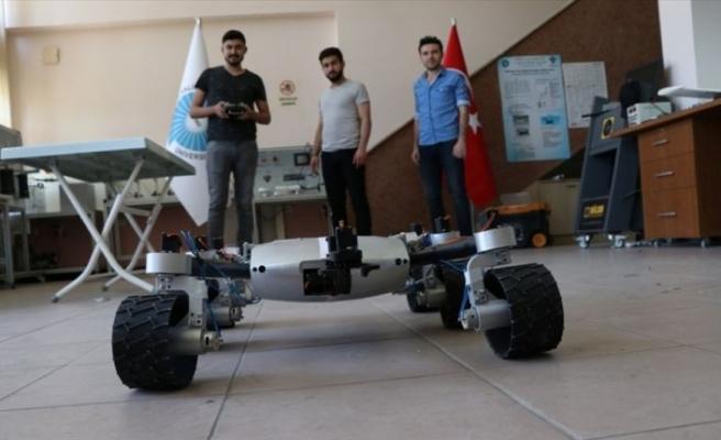 'Mars Rover'dan esinlenip 'Türk Rover'ı yaptılar