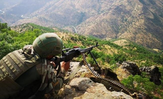 Pençe Harekatı'nda bugüne kadar 57 terörist etkisiz hale getirildi