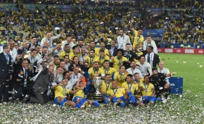 Kupa Amerika'da şampiyon Brezilya