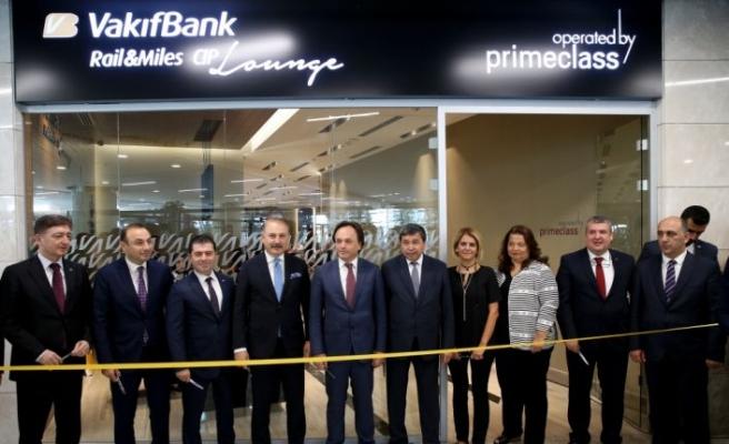 Ankara YHT Garı CIP salonu hizmete açıldı