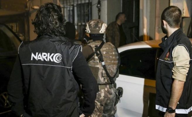 Uyuşturucu ile mücadelede 206 bin 134 şüpheli gözaltına aldı