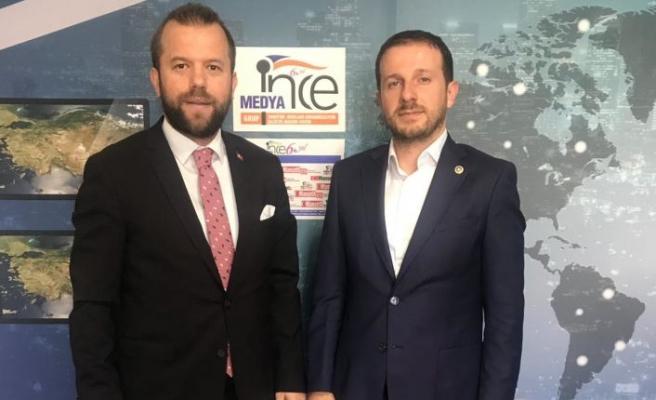 Ahmet Kılıç İNCE MEDYA'yı Ziyaret Etti