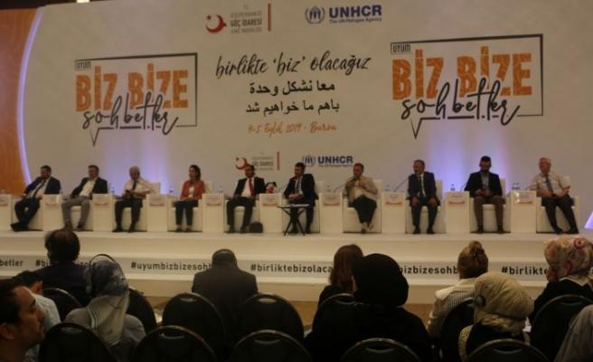 Uyum- Biz Bize Sohbetler Etkinliği Bursa'da Gerçekleştirildi