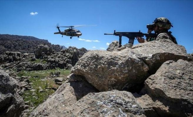 Ağrı kırsalında hava destekli operasyonda 7 terörist etkisiz hale getirildi