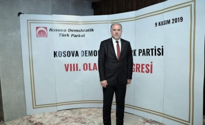Kosova Demokratik Türk Partisinin yeni genel başkanı Fikrim Damka oldu