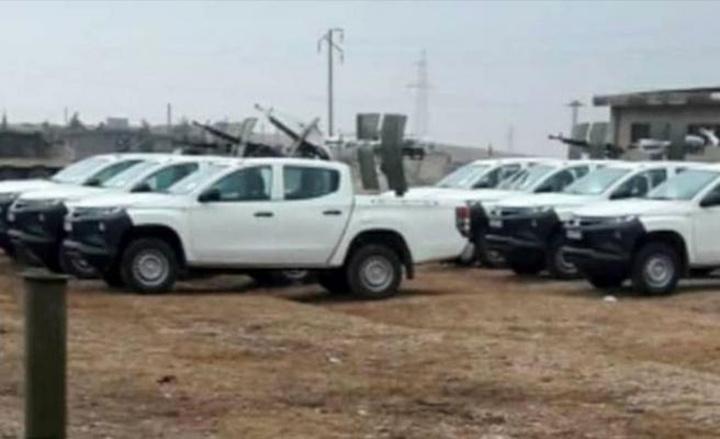 İran destekli yabancı teröristlerden Deyrizor'daki noktalarına takviye