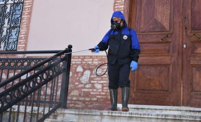 Gemlik Belediyesinden virüs önlemi