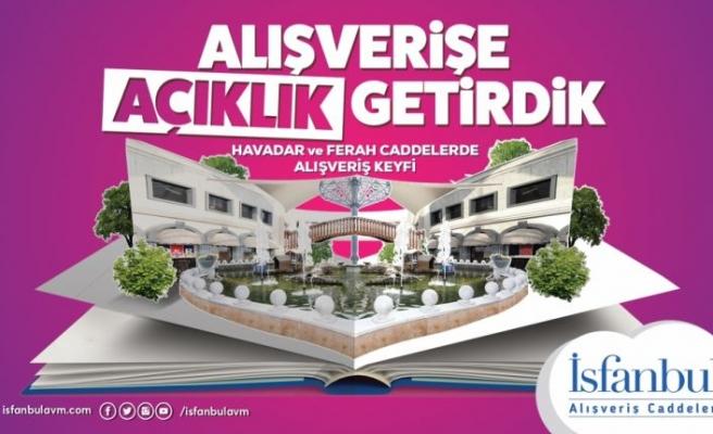 İsfanbul AVM artık İsfanbul Alışveriş Caddeleri olarak hizmet verecek