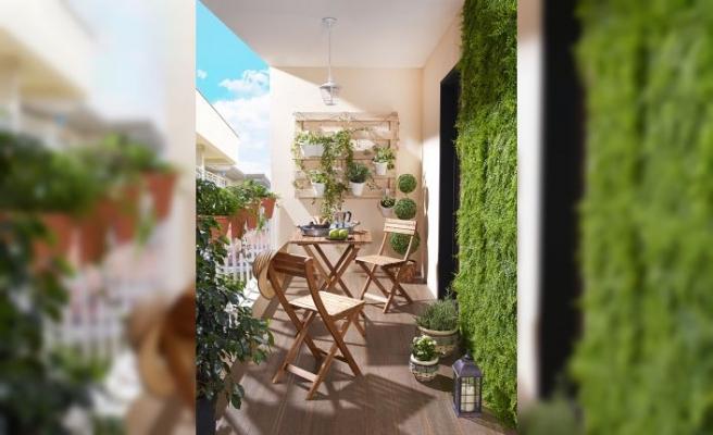 Koçtaş'tan balkonlarda uygulanabilecek yüzlerce fikir önerisi