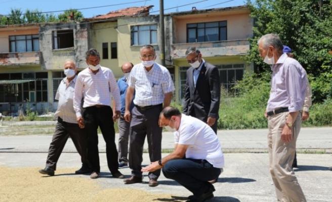 Vali Çetin Oktay Kaldırım, Kaynarca'yı ziyaret etti