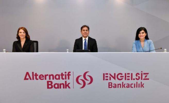 Alternatif Bank'tan engelsiz bankacılığın örnek kurumu olma sözü