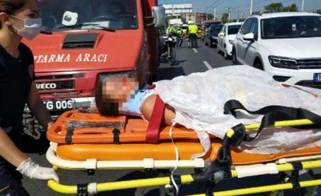 Bursa'da kamyonun çarptığı çocuk hayatını kaybetti