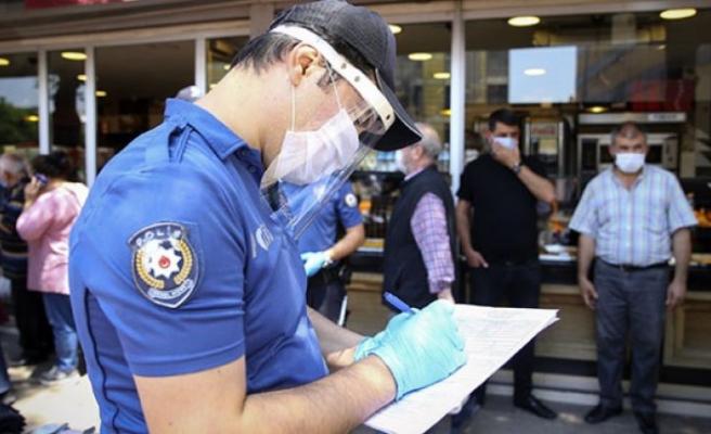 Kovid-19 tedbirlerine uymayan 192 kişiye idari para cezası