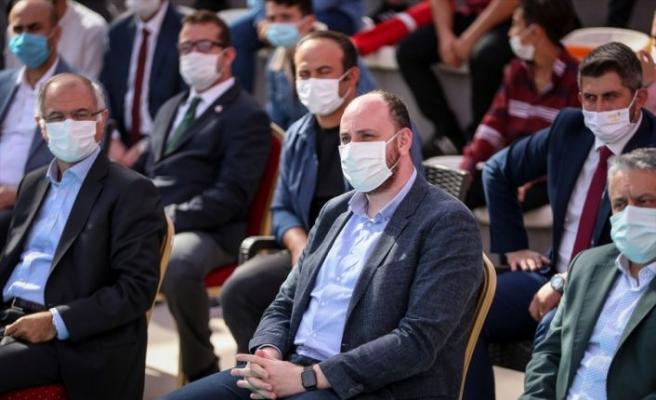 AK Parti Gençlik Kolları Başkanı Büyükgümüş Bursa'da konuştu