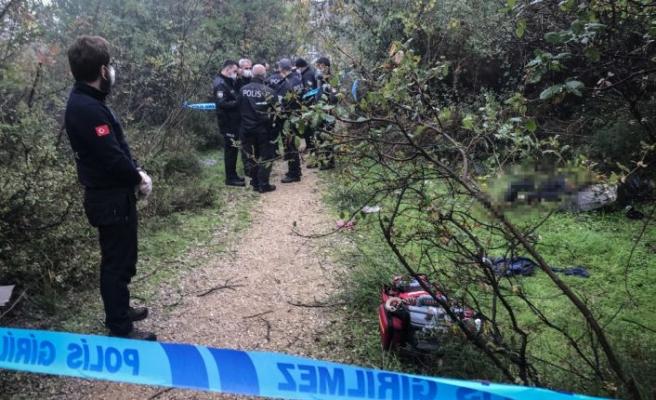 Bursa'da ormanlık alanda erkek cesedi bulundu
