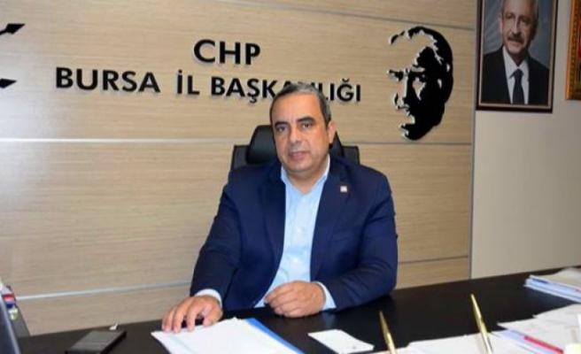 CHP İl Başkanı Karaca: ''Bursa Büyükşehir şirketlerinde yağma sofrası var''