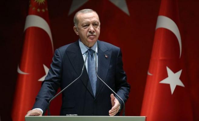Cumhurbaşkanı Erdoğan: Ülkemizi tabii afetlere hazırlıklı hale getirmek için gece gündüz çalışmayı sürdüreceğiz