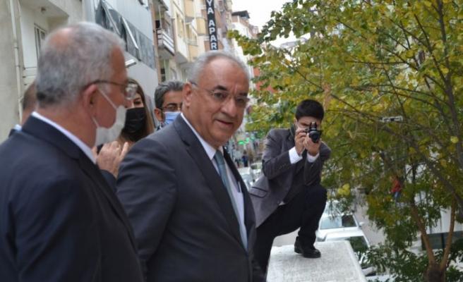 DSP Genel Başkanı Aksakal Bilecik'te konuştu