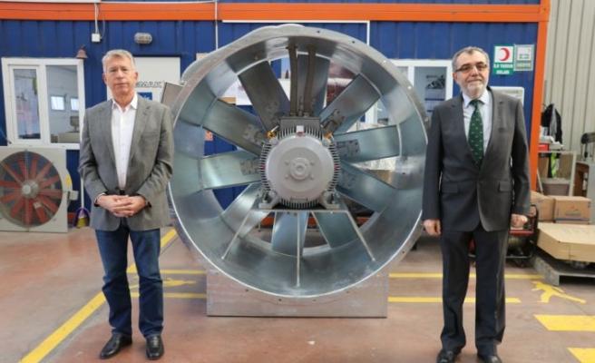 Fan üreterek Türkiye'ye 60 milyon Avro tasarruf sağladılar