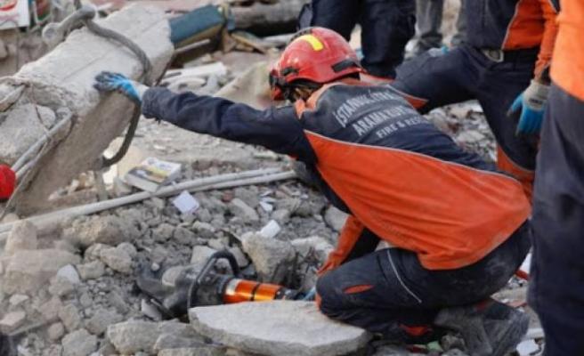İBB arama kurtarma ekibi İzmir'den ayrılıyor